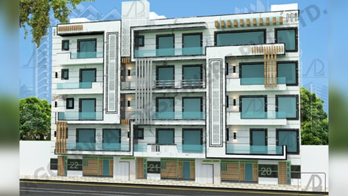 Residential architecture firms in delhi, India - Aggarwal Designers Private Limited