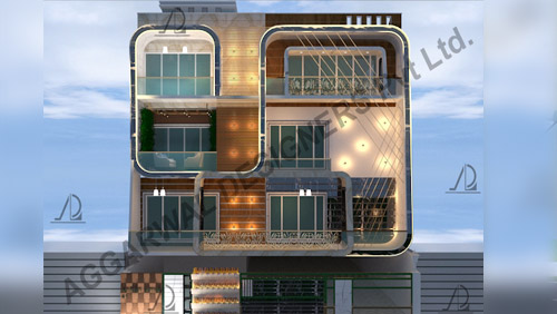 India's famous residential architects - Aggarwal Designers Private Limited