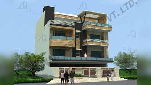 Residential architects firms in delhi, India - Aggarwal Designers Private Limited
