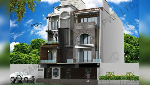 Best residential architectural firms in Delhi, India - Aggarwal Designers Private Limited